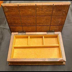 Storage & Organization - Vintage 60's 70's Hippie Jewelry Stash Hinged Box
